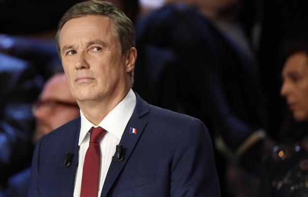 Le Pen designa al conservador Nicolas Dupont-Aignan como su candidato a primer ministro