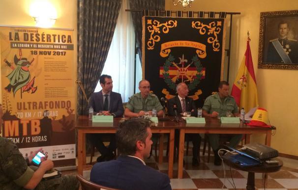 La Brigada de la Legión organiza la primera edición de 'La Desértica' para el 18 de noviembre
