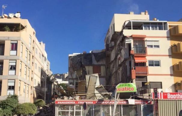 Aprobada una declaración institucional de reconocimiento al operativo de rescate del edificio derrumbado en Tenerife
