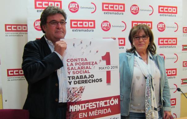 """CCOO y UGT exigirán a los políticos el 1º de Mayo que dejen el """"juego de tronos"""" y hablen de """"las cosas de comer"""""""