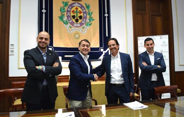 La Sociedad de Desarrollo de Santa Cruz de Tenerife y el Hotel Escuela se unen para fomentar actividades promocionales