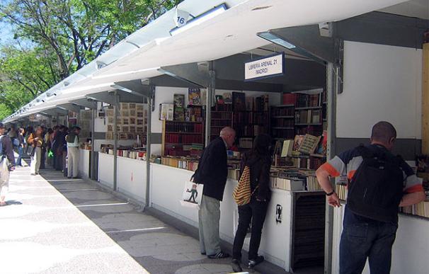 Feria del libro en Madrid