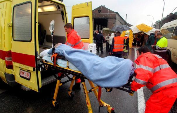 Más de veinte muertos en un accidente ferroviario junto a Bruselas