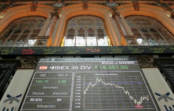 La Bolsa española abre en negativo y el Ibex cede el 0,34%