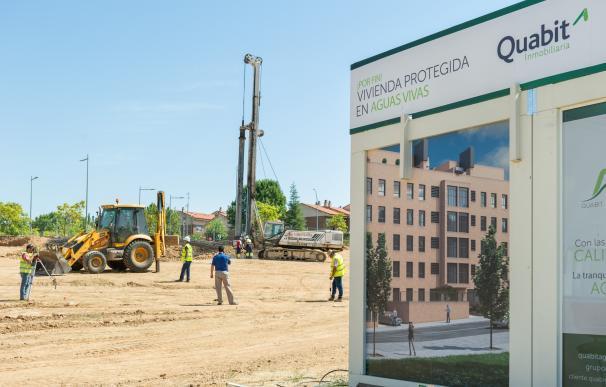 Quabit invertirá 14 millones en una promoción de 116 viviendas protegidas en Guadalajara